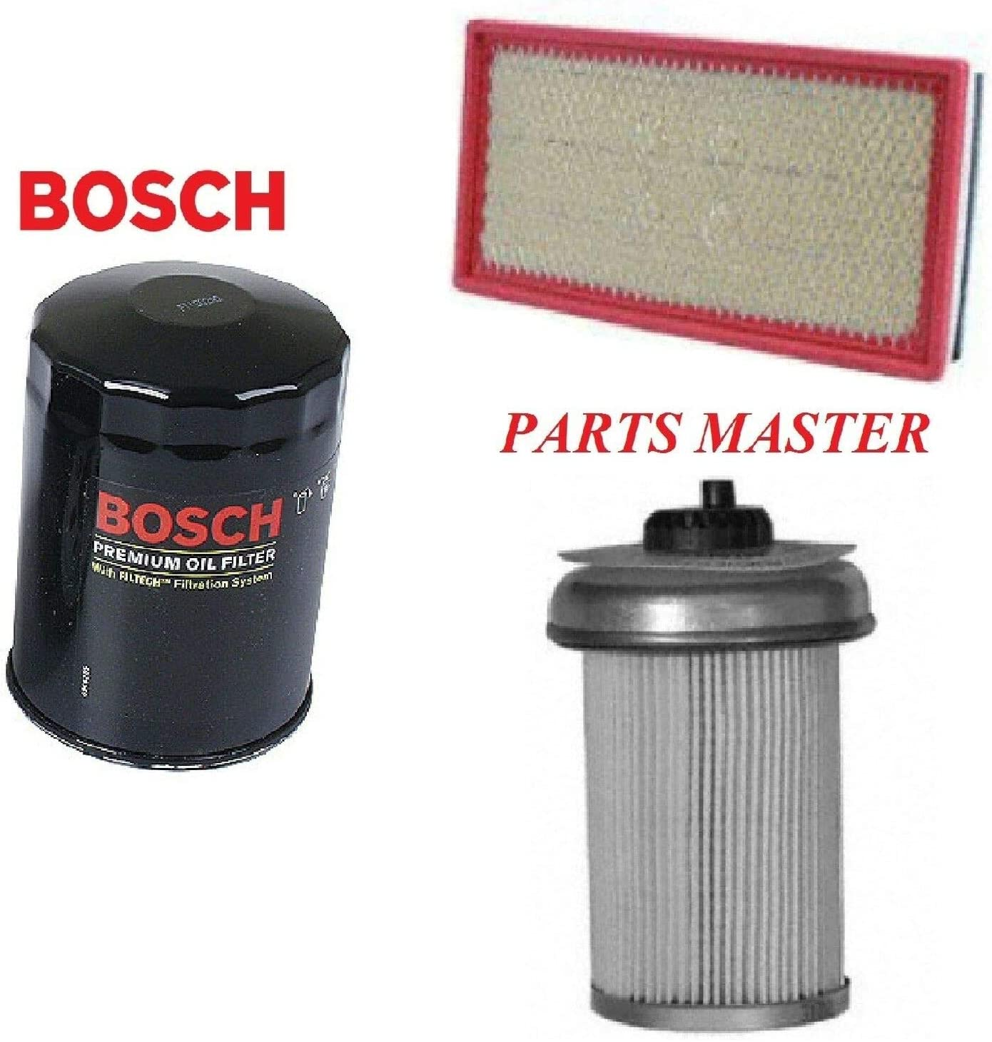 8USAUTO Tune Up Kit Air Oil Fuel Filters FIT Chevrolet P30 V8 6.5L; Diesel; Turbo 1994-1999