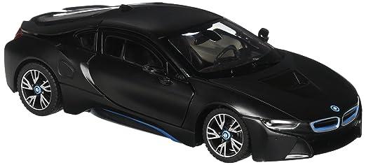 Amazon Com Rastar Black Bmw I8 R C Die Cast Car Toys Games