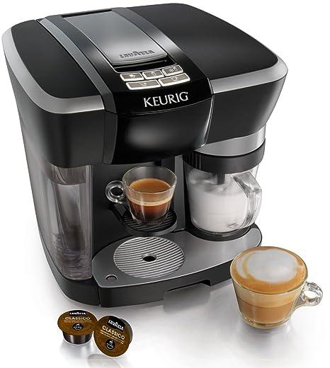 Amazon.com: El sistema Keurig Rivo Cappuccino y Latte, Negro ...