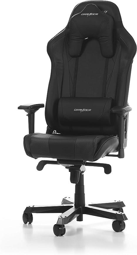Dxracer The Original Sentinel S28 Gaming Chair For High End Pc Ps4 Xbox Nintendo Ergonomic Office Chair In Faux Leather Black Amazon De Kuche Haushalt