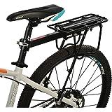 RockBros Fahrrad Gepäckträger Mit Schnellspanner Tasche-Koffer Sattelstütze