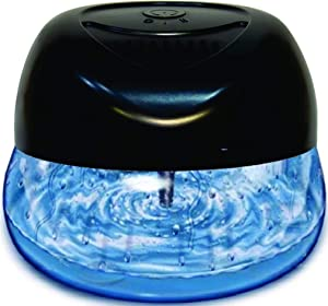 Bluonics Fresh Aire Water Based Air Revitalizer with 6 LED Color Changing Light. Air Freshener for Small and Large Rooms