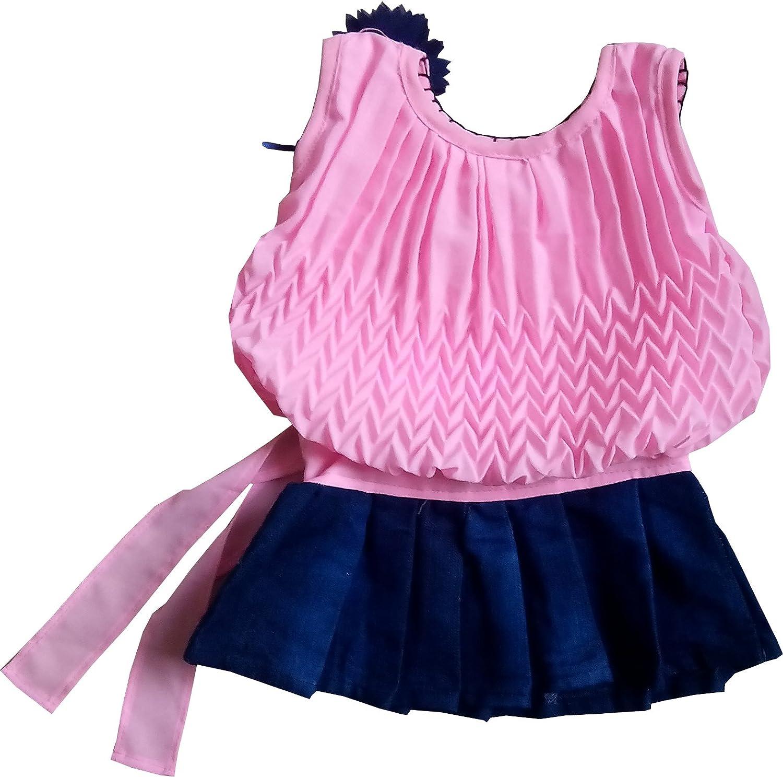 SNS Girls Dress Ba Pink 3 6 Months Amazon Clothing