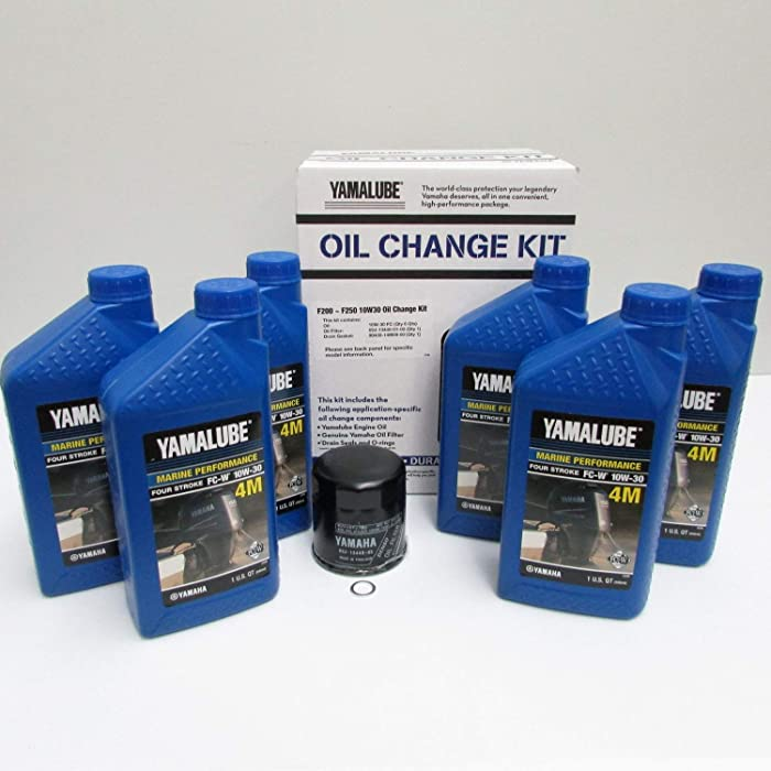The Best Yamaha Synthetic Oil Change Kit 20 Hp