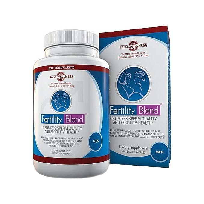 Fertility Blend Supplement for Men by Fertility Blend: Amazon.es: Salud y cuidado personal
