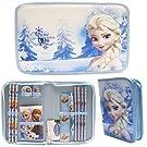 Disney Frozen Light Blue Stationery Set Pack with Case (13 Pcs)