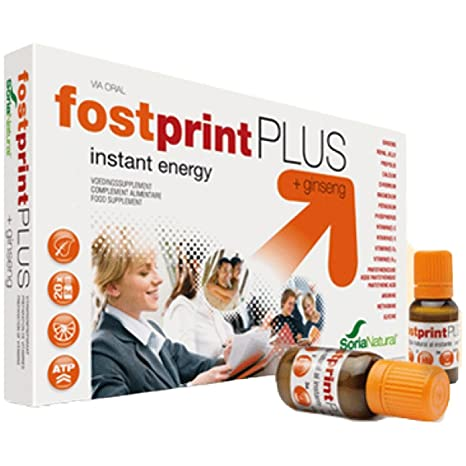 SORIA NATURAL Fost Print Plus 20 Ampollas