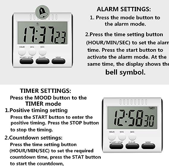 set alarm for 12 minutes
