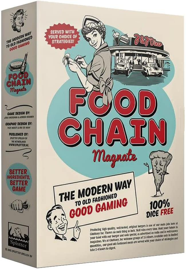 Food Chain Magnate - First edition, fourth printing (2016): Amazon.es: Juguetes y juegos