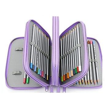 Prismacolor Premier - Estuche de lápices de 4 capas (piel ...