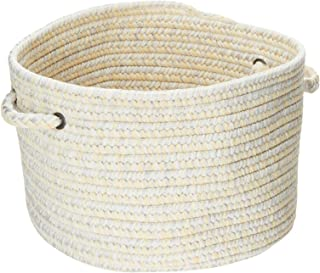 product image for Colonial Mills CA39 18 by 18 by 12-Inch Catalina Storage Basket, Sun-Soaked