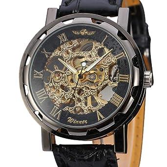 d61e499168 メンズ腕時計 ファッション 機械式時計 レトロ クラシック 高品質レザーベルト クォーツ腕時計 通勤 クリアランス