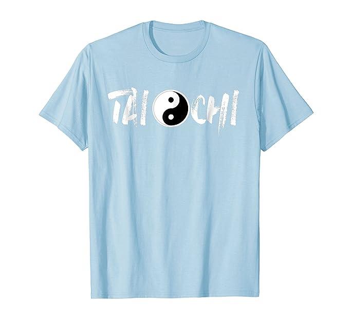Amazon Tai Chi Martial Art Shirt Yin Yang Symbol Chinese Tees