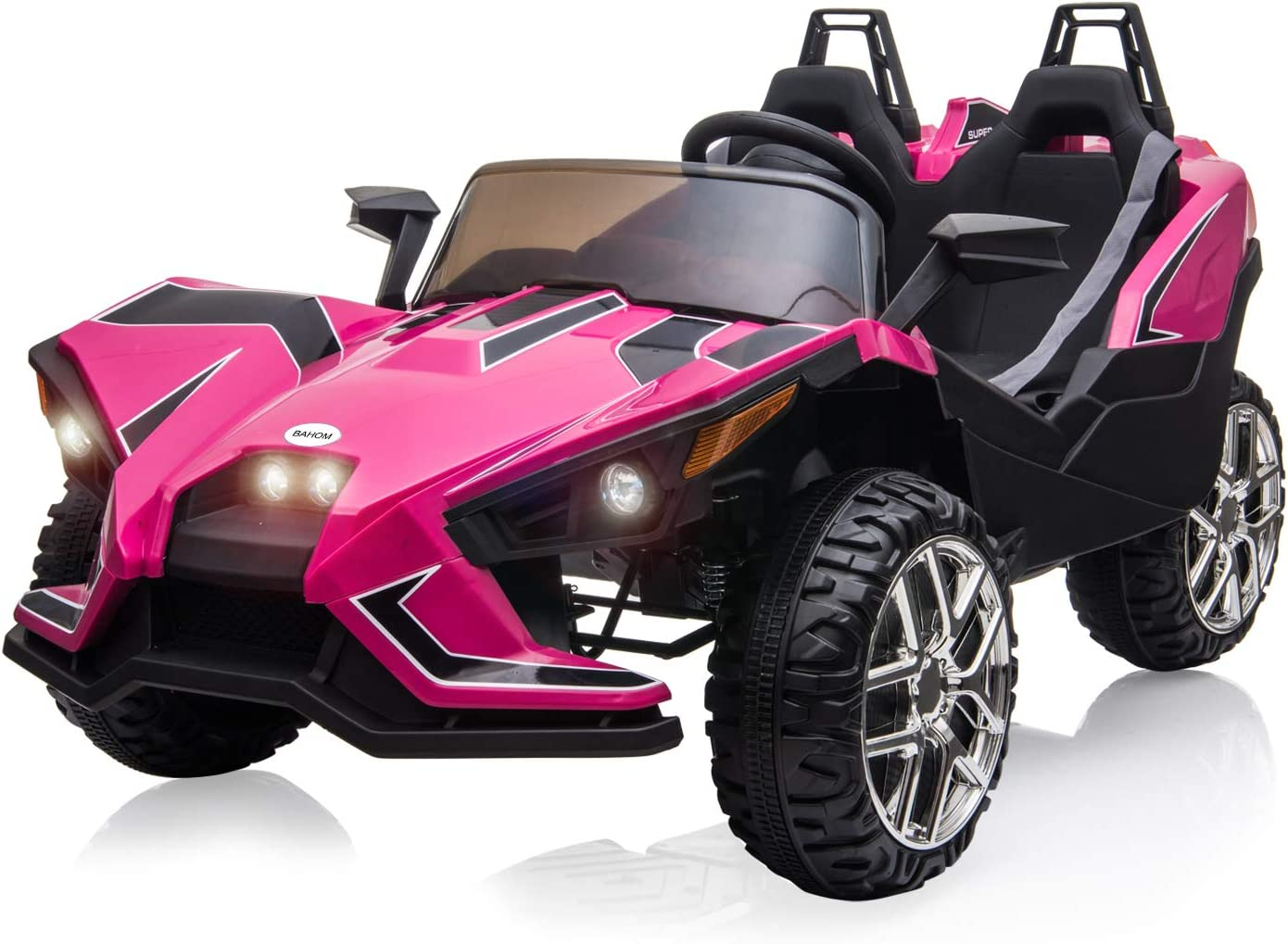 12V Kids Ride On Car Toys Battery Power w// Safe Remote Control Pink