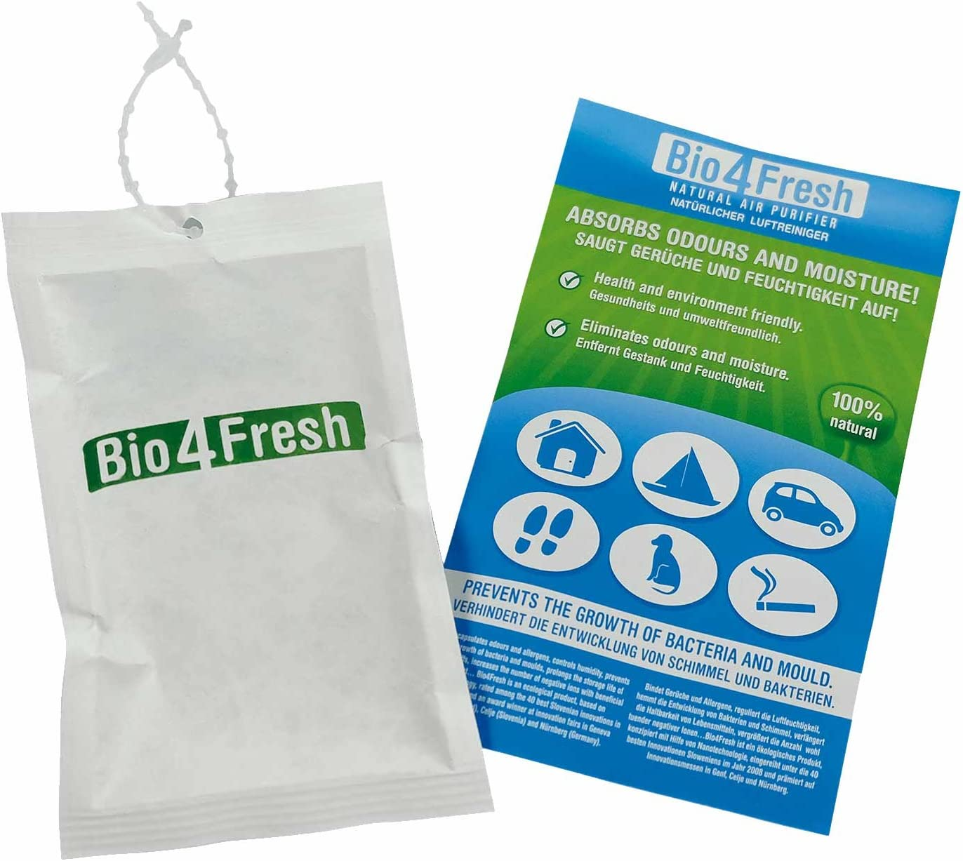 Olor absorber bio4 Fresh: Amazon.es: Salud y cuidado personal