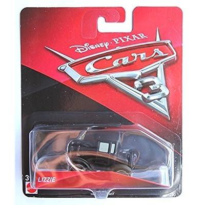 Cars 3- Coche Lizzie (Mattel FJH99) (: Juguetes y juegos