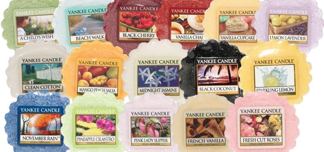 Yankee Candle- 5X Mixed Fragrance Wax Tarts