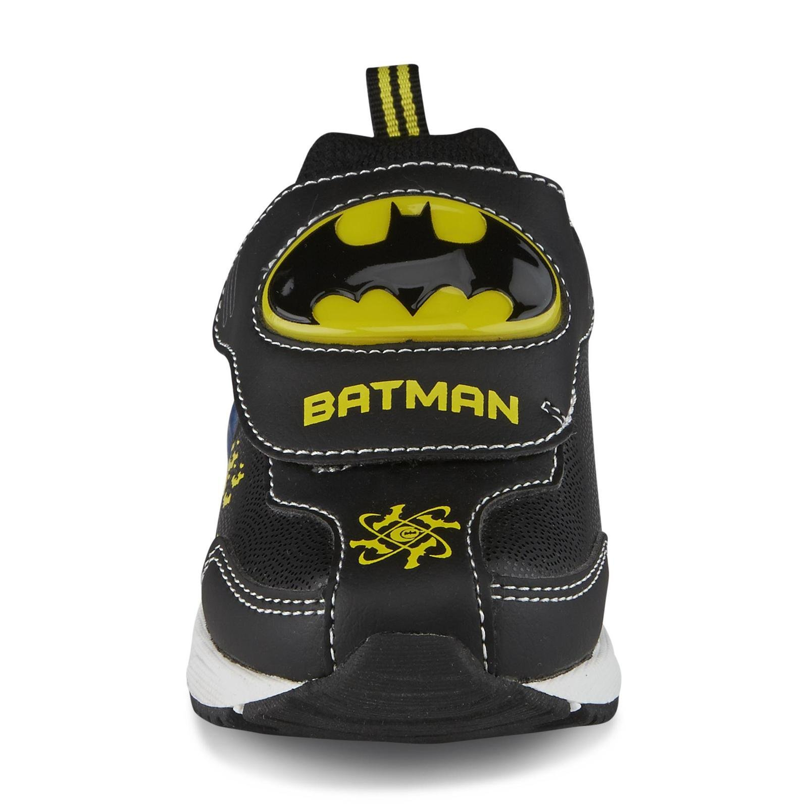 c2ebe9b49667c4 Galleon - DC Comics Toddler Boy s Batman Sneakers Athletic Shoe ...