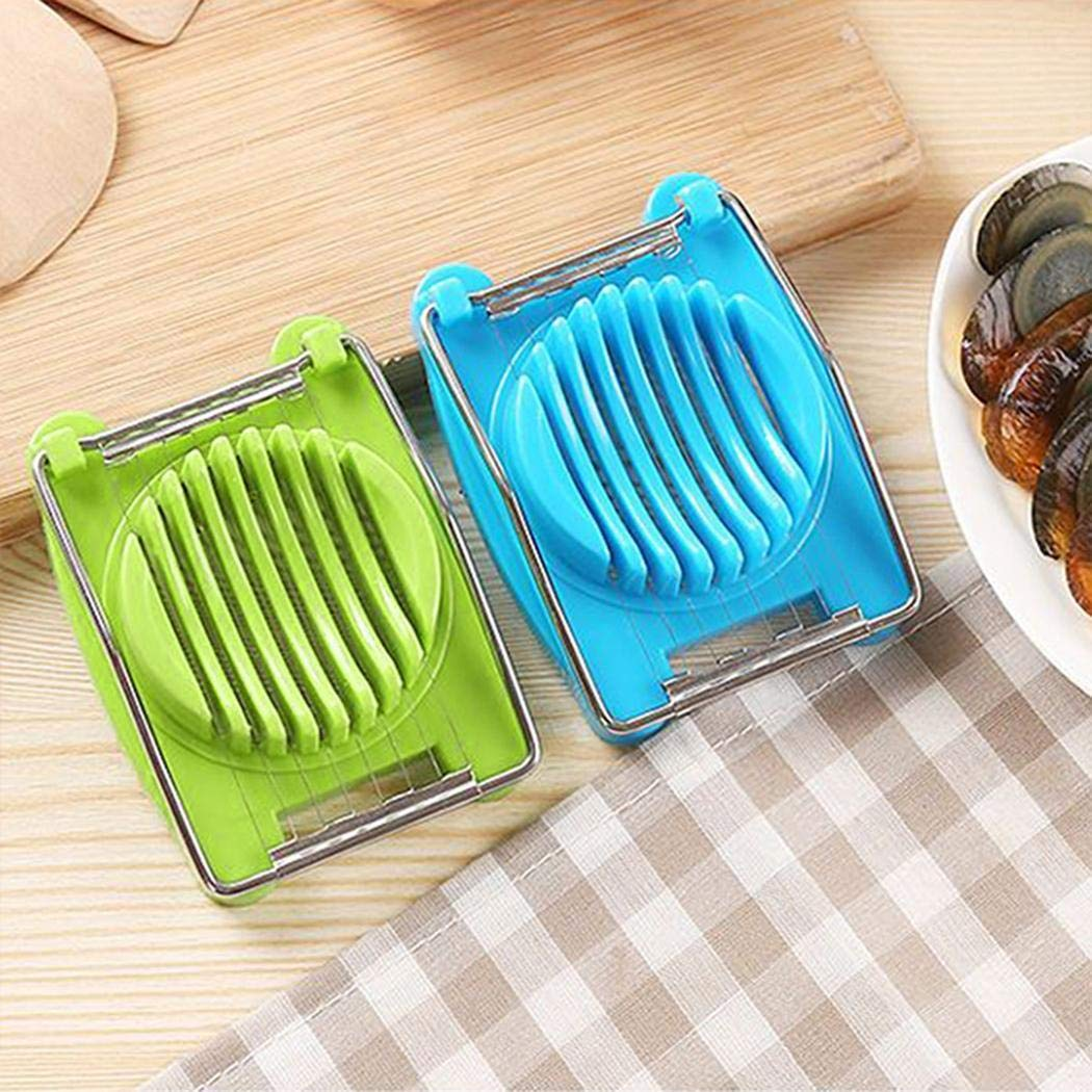Fikole Cook Multipurpose Stainless Steel Wires Egg Slicer Kitchen Eggs Cutter Tool Utility Knives by fikole (Image #4)