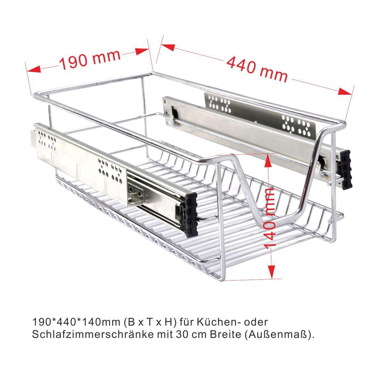 Küchenschublade Teleskopschublade Schublade für Küchen-oder ...