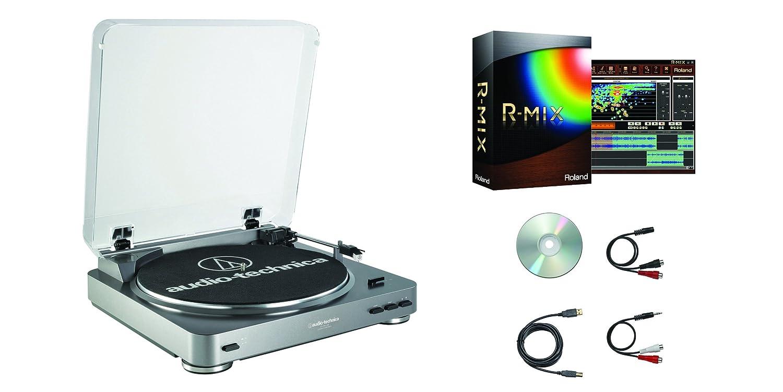 Audio Technica at-lp60-usb r-Mix Plato Paquete de Software con ...