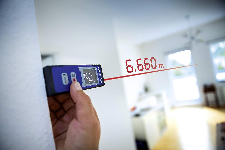 Laser Entfernungsmesser Lux : Lux tools laser entfernungsmesser für entfernungen von bis zu m