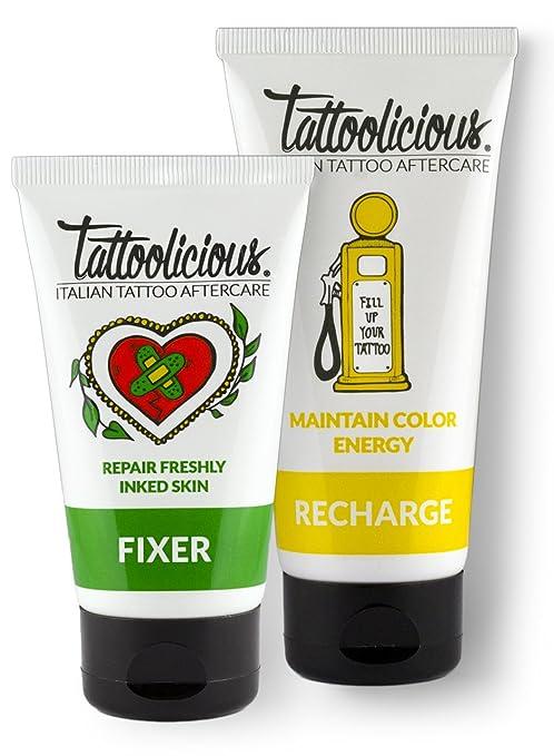 2 opinioni per Tattoolicious COMBO AFTERCARE- Crema lenitiva biologica specifica per la cura