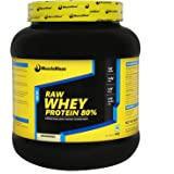 Muscleblaze 80% Raw Whey Instantised Protein Supplement Powder, 1 kg 33 Servings (Unflavoured)