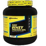 MuscleBlaze 80% Whey Protein Supplement Powder, 1 kg (Unflavoured)