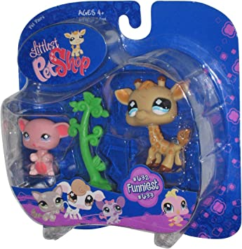 Amazon.es: Littlest Pet Shop On with The Show Pet Pair by ...
