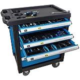 Bensontools 10400 Werkzeugwagen Werkstattwagen gefüllt Werkzeugkiste inklusiv Werkzeug