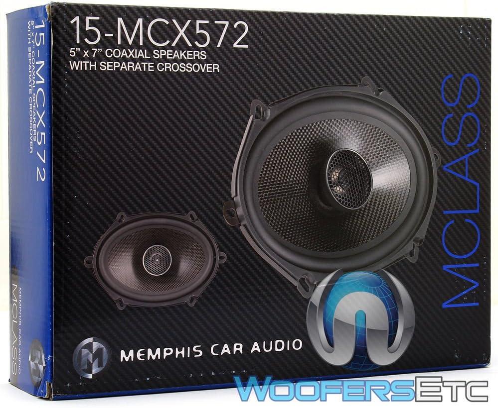 "MEMPHIS MCX572 5/""X7/"" 6/""X8/"" CAR 2-WAY ALUMINUM ALLOY TWEETERS COAXIAL SPEAKERS"