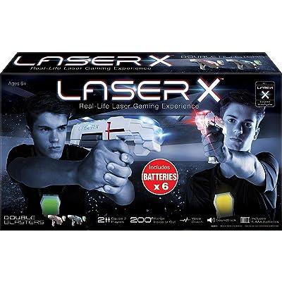 Laser X 2 Player Laser Gaming Set: Home & Kitchen