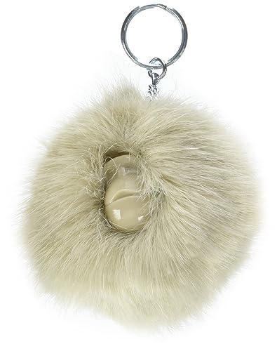 Kipling Pompom Monkey, Llavero Unisex, 9x9x5 cm