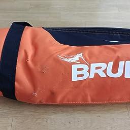 Bolsa Deporte De Nieve para Transportar Un Par De Esqu/ís Y Bastones BRUBAKER Carver Pro 2.0 Bolsa Porta Esqu/ís 170 cms P/úrpura//Amarillo /ó 190 cms. Funda Reforzada