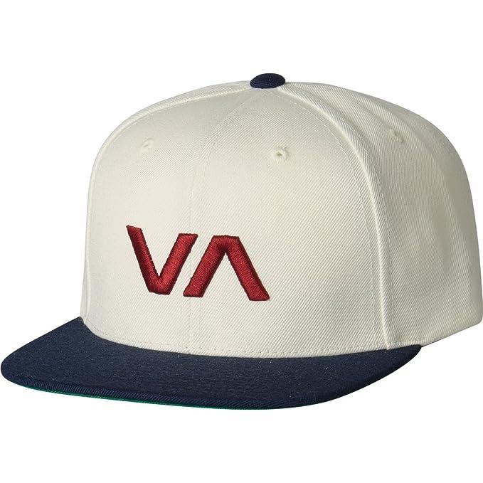 0d8b5d238 Amazon.com: RVCA VA Snapback II Hat Red White Blue: Clothing