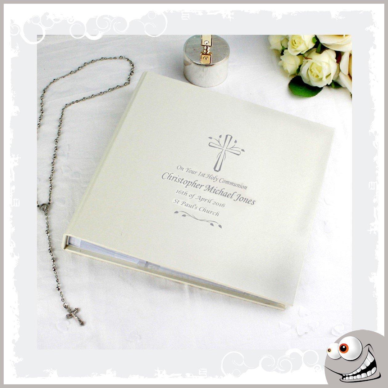 Christliches Geschenk Kommunion personalisierbar Fotoalbum Geschenk für junge oder Mädchen B06XVF5B1F | Qualität und Verbraucher an erster Stelle