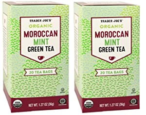 Trader Joes Moroccan Mint Green Tea - 2 pack