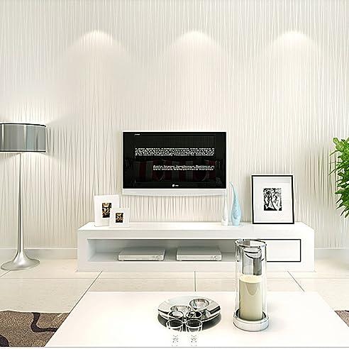 KINLO® Tapete Wand Vlies 10x0.53m(5.3m) Mustertapete Tapete Vlies ...