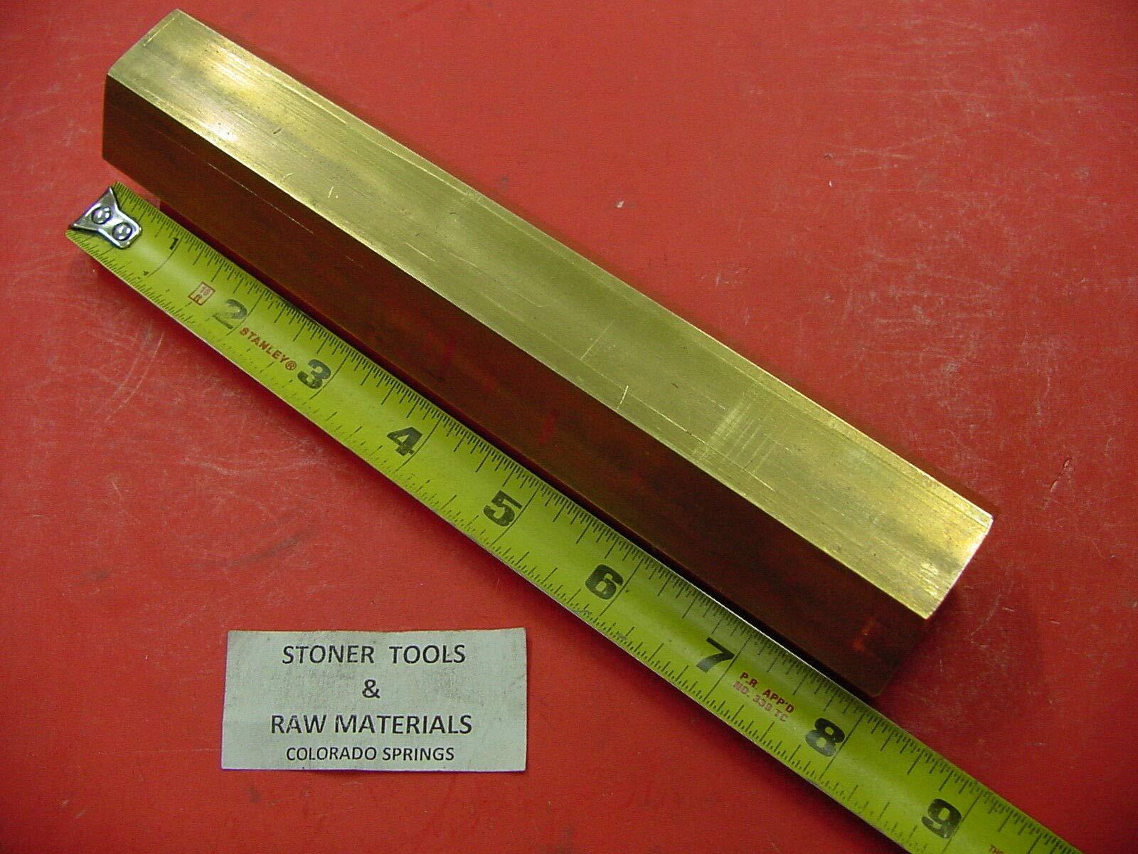 1-1/2'' C360 Brass HEX BAR 8'' Long New Lathe Bar Stock 1.50'' Hex 1/2 Hard by Khoa88good