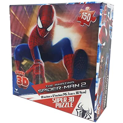 The Amazing Spider-Man 2 150 Piece Super 3D Puzzle: Toys & Games