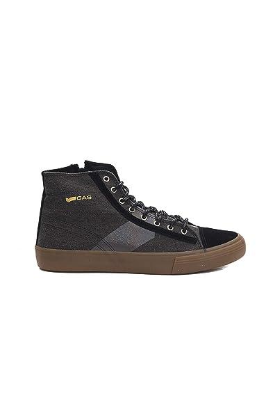 Gas , Herren Sneaker Schwarz 03 schwarz 40 EU Schuhe  Amazon   Schuhe EU ef8efb