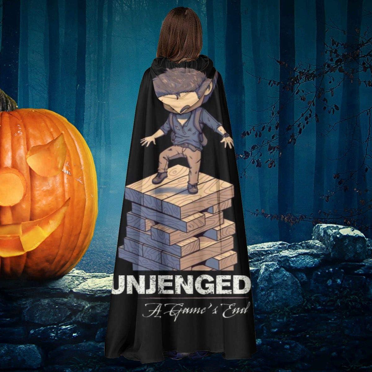AISFGBJ Unjenged Jenga Uncharted Unisex Navidad Halloween Bruja Caballero con Capucha Bata de Vampiro Capa de Disfraz de Cosplay: Amazon.es: Productos para mascotas