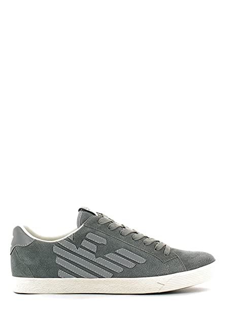 Zapatos de Hombre ea7 Emporio Armani, Zapatillas Gris Art. 278038 cc299 (44,