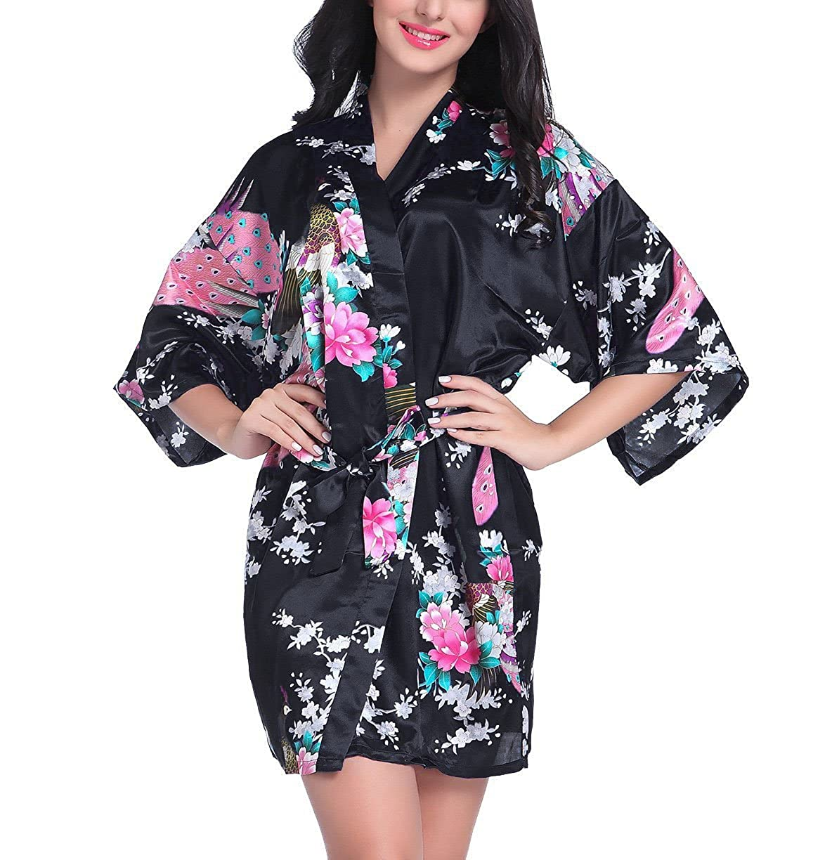 4421bfdfab Top 10 wholesale Kimono Robe Dressing Gown - Chinabrands.com