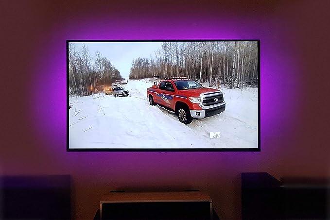Tv led posteriore di illuminazione kit m multicolore rgb tv led