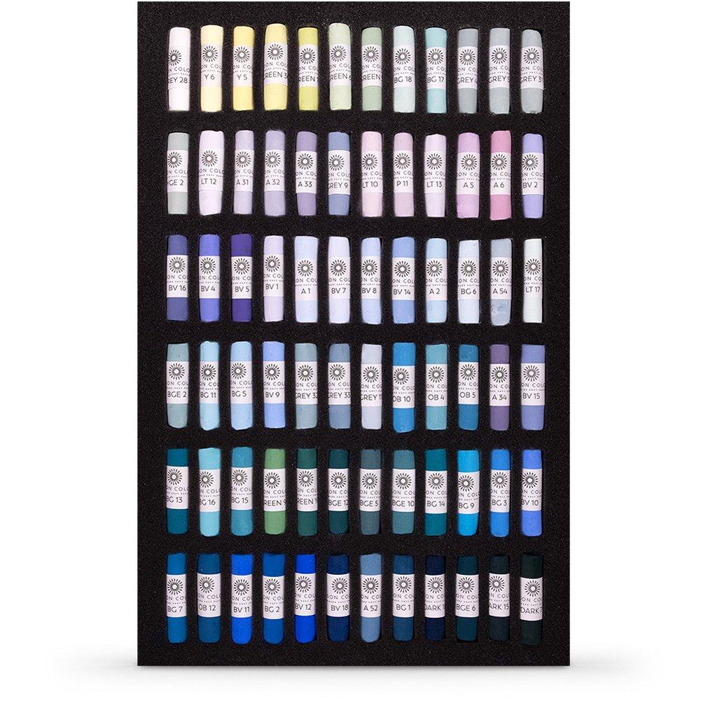 Unison : Soft Pastel : Tricia Taylor Seascape Set of 72