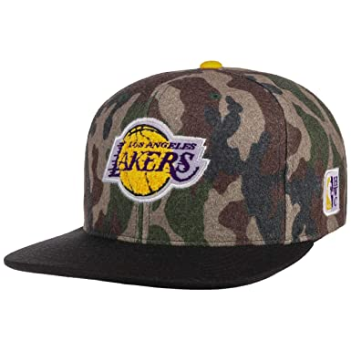 Mitchell & Ness Gorras LA Lakers Flannel Camo/Black Snapback ...