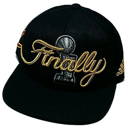 Amazon.com   Cleveland Cavs Cavaliers Adidas NBA Finals Trophy ... 47d387da1