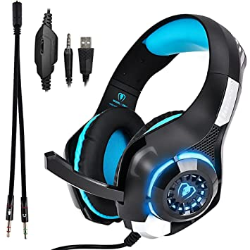 Gaming Kopfhörer mit mikrofon Stereo Sound 7.1: Amazon.de: Elektronik